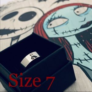 Titanium Ring Size 7 NBC Jack Sally